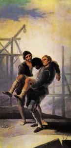 Φρανσίσκο Γκόγια, «Ο τραυματίας οικοδόμος», 1786-7
