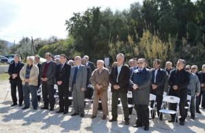 Ο  βουλευτής της ΔΗΜΑΡ λίγο πριν δεχθεί την «θερμή υποδοχή» από τους πολίτες της Πάτρας