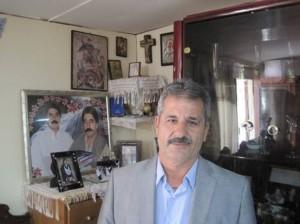 Ο πρόεδρος του Πολιτιστικού Συλλόγου κ. Στ. Καλαμιώτης