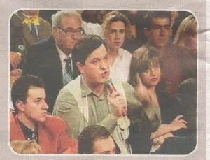 Ο Χρήστος Παππάς σε στιγμές φασιστικής λογοδιάρροιας, αρκετά χρόνια προτού τον προδώσει η ακράτειά του στην είσοδο του Mega