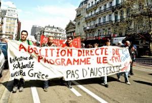 Η Πρωτοβουλία Αλληλεγγύης σε πρωτομαγιάτικη διαδήλωση