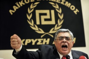 Political leader of the far-right party