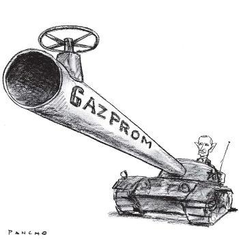 GazpromSovietTankPutin