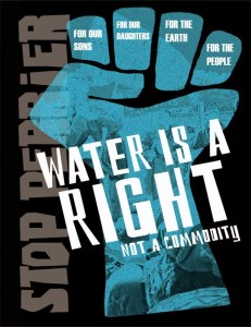 Water is a right fist