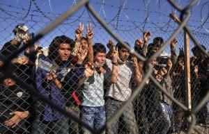 Greece EU Frontex