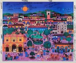 Πίνακας -δώρο των εξεγερμένων του Μεξικού στους εξεγερμένους του Δεκέμβρη 2008
