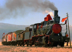 red-train