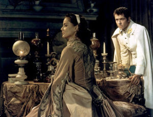 """Actors Alida Valli, left, and Farley Granger perform in """"Senso"""" at an undisclosed location in this undated photo released to the press on June 13, 2011. The film was directed by Luchino Visconti. Source: Criterion Collection via Bloomberg EDITOR'S NOTE: NO SALES. EDITORIAL USE ONLY."""